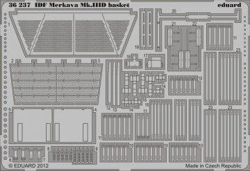 IDF Merkava Mk.IIID basket [HobbyBoss] · EDU 36237 ·  Eduard · 1:35