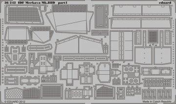 IDF Merkava Mk.IIID [Meng Models] · EDU 36242 ·  Eduard · 1:35