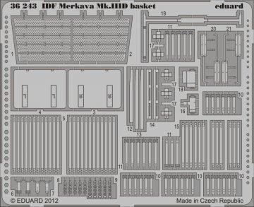 IDF Merkava Mk.III D basket [Meng Models] · EDU 36243 ·  Eduard · 1:35