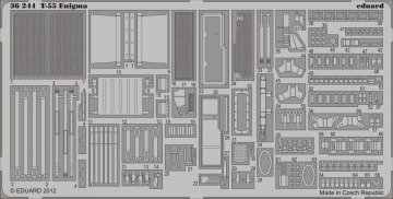 T-55 Enigma [Tamiya] · EDU 36244 ·  Eduard · 1:35
