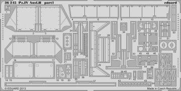 Pz.IV Ausf.H [Italeri] · EDU 36245 ·  Eduard · 1:35
