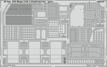 ATF Dingo 2 GE A PatSi - Interior [Revell] · EDU 36263 ·  Eduard · 1:35