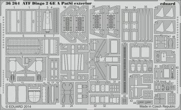 ATF Dingo 2 GE A PatSi - Exterior [Revell] · EDU 36264 ·  Eduard · 1:35
