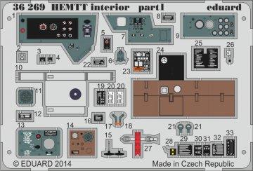 HEMTT - Interior [Italeri] · EDU 36269 ·  Eduard · 1:35