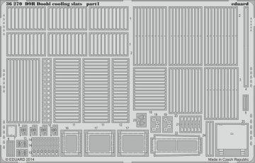 D9R Doobi cooling slats [Meng Models] · EDU 36270 ·  Eduard · 1:35
