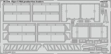 Tiger I Mid production - Fenders [Dragon] · EDU 36276 ·  Eduard · 1:35