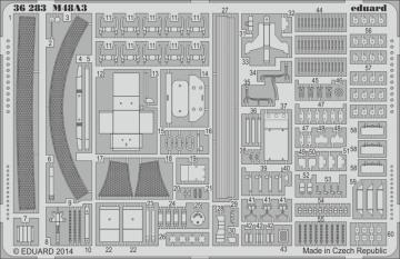 M48A3 [Dragon] · EDU 36283 ·  Eduard · 1:35