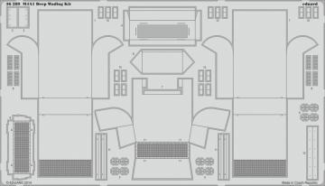 M4A1 Deep Wading Kit [Eduard] · EDU 36289 ·  Eduard · 1:35