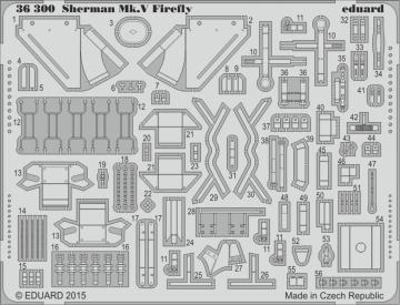 Shermann Mk.V Firefly [Tamiya] · EDU 36300 ·  Eduard · 1:35