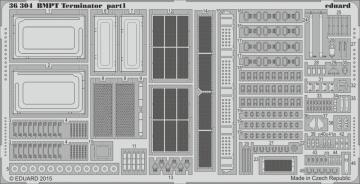 BMPT Terminator [MengModels] · EDU 36304 ·  Eduard · 1:35
