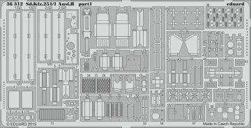 Sd.Kfz.251/1 Ausf.B [Zvezda] · EDU 36312 ·  Eduard · 1:35