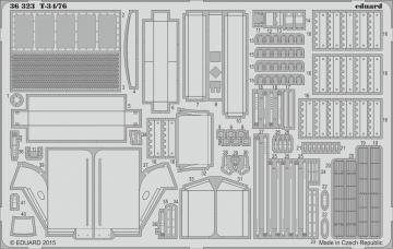 T-34/76 [ICM] · EDU 36323 ·  Eduard · 1:35