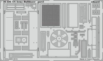 US Army Bulldozer [Mini Art] · EDU 36326 ·  Eduard · 1:35