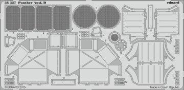 Panther Ausf.D [Tamiya] · EDU 36327 ·  Eduard · 1:35
