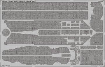 Panther Ausf.D Zimmerit Vertical [Tamiya] · EDU 36330 ·  Eduard · 1:35