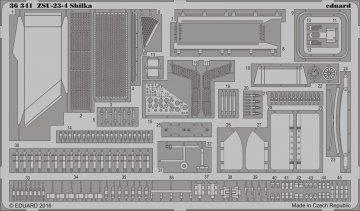 ZSU-23-4 Shilka [Meng Models] · EDU 36341 ·  Eduard · 1:35