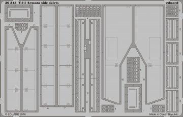 Russian Main Battle Tank T-14 Armata - Side skirts [Takom] · EDU 36345 ·  Eduard · 1:35