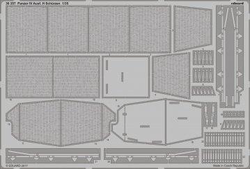 Panzer IV Ausf. H - Schürzen [Zvezda] · EDU 36357 ·  Eduard · 1:35