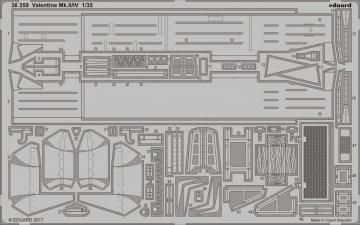 Valentine Mk.II/IV [Tamiya] · EDU 36359 ·  Eduard · 1:35