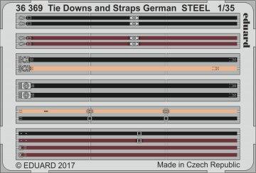 Tie Downs and Straps German STEEL · EDU 36369 ·  Eduard · 1:35