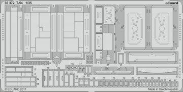 T-54 [Miniart] · EDU 36372 ·  Eduard · 1:35