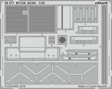 M113A ACAV [AFV-Club] · EDU 36377 ·  Eduard · 1:35