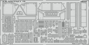 Panzer IV Ausf.H [Academy] · EDU 36382 ·  Eduard · 1:35
