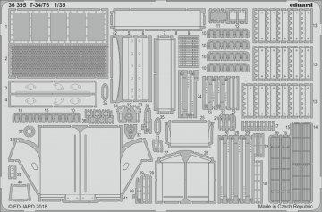 T-34/76 [Academy] · EDU 36395 ·  Eduard · 1:35
