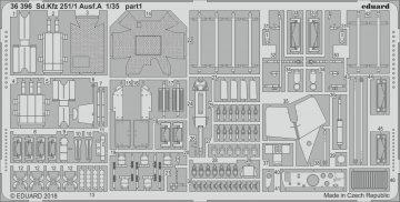 Sd.Kfz 251/1 Ausf.A [ICM] · EDU 36396 ·  Eduard · 1:35