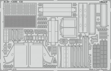 T-34/85 [Zvezda] · EDU 36397 ·  Eduard · 1:35
