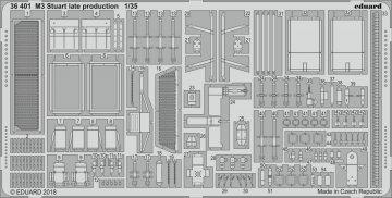M3 Stuart late production [Tamiya] · EDU 36401 ·  Eduard · 1:35