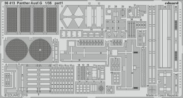 Panther Ausf.G [Academy] · EDU 36413 ·  Eduard · 1:35