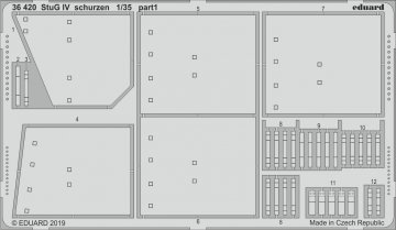 StuG IV - Schurzen [Academy] · EDU 36420 ·  Eduard · 1:35