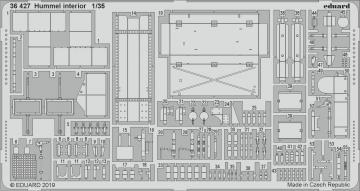 Hummel - Interior [Tamiya] · EDU 36427 ·  Eduard · 1:35