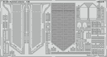 Hummel - Exterior [Tamiya] · EDU 36428 ·  Eduard · 1:35