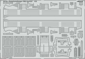 Panzerkampfwagen 38(t) Ausf.E/F 1 [Tamiya] · EDU 36433 ·  Eduard · 1:35