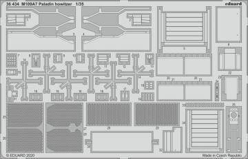 M109A7 Paladin howitzer [PandaHobby] · EDU 36434 ·  Eduard · 1:35