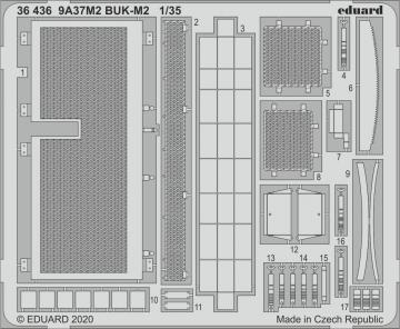 9A37M2 BUK-M2 [Panda] · EDU 36436 ·  Eduard · 1:35