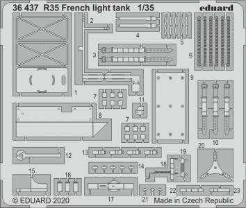 R35 French light tank [Tamiya] · EDU 36437 ·  Eduard · 1:35