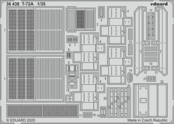 T-72A [HobbyBoss] · EDU 36438 ·  Eduard · 1:35