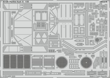 Panther Ausf. G [Ryefield Model] · EDU 36439 ·  Eduard · 1:35