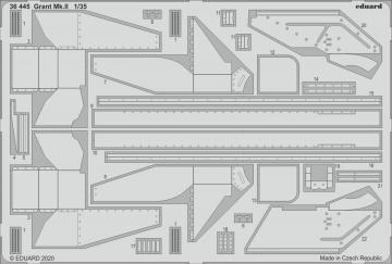 Grant Mk.II [Miniart] · EDU 36445 ·  Eduard · 1:35