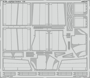 Jagdtiger - Fenders [Takom] · EDU 36455 ·  Eduard · 1:35