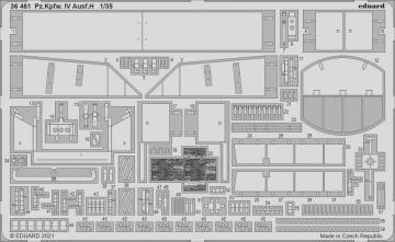 Pz.Kpfw. IV Ausf.H [Miniart] · EDU 36461 ·  Eduard · 1:35