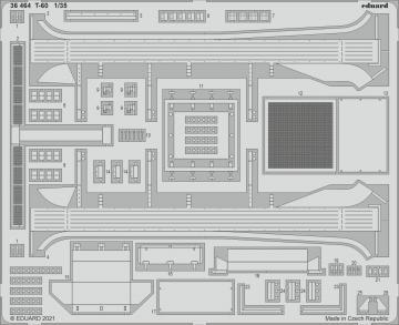 T-60 [HobbyBoss] · EDU 36464 ·  Eduard · 1:35