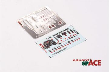 P-51D-10 - SPACE [Eduard] · EDU 3DL48003 ·  Eduard · 1:48