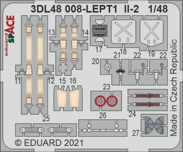 Il-2 - Space [Zvezda] · EDU 3DL48008 ·  Eduard · 1:48