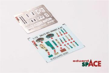 MiG-21MF - SPACE [Eduard] · EDU 3DL72002 ·  Eduard · 1:72