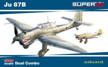 Ju 87B - Dual Combo - Super44 · EDU 4431 ·  Eduard · 1:144