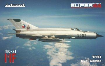 MF/MiG-21 in Czechoslovak service - Dual Combo - Super44 · EDU 4434 ·  Eduard · 1:144